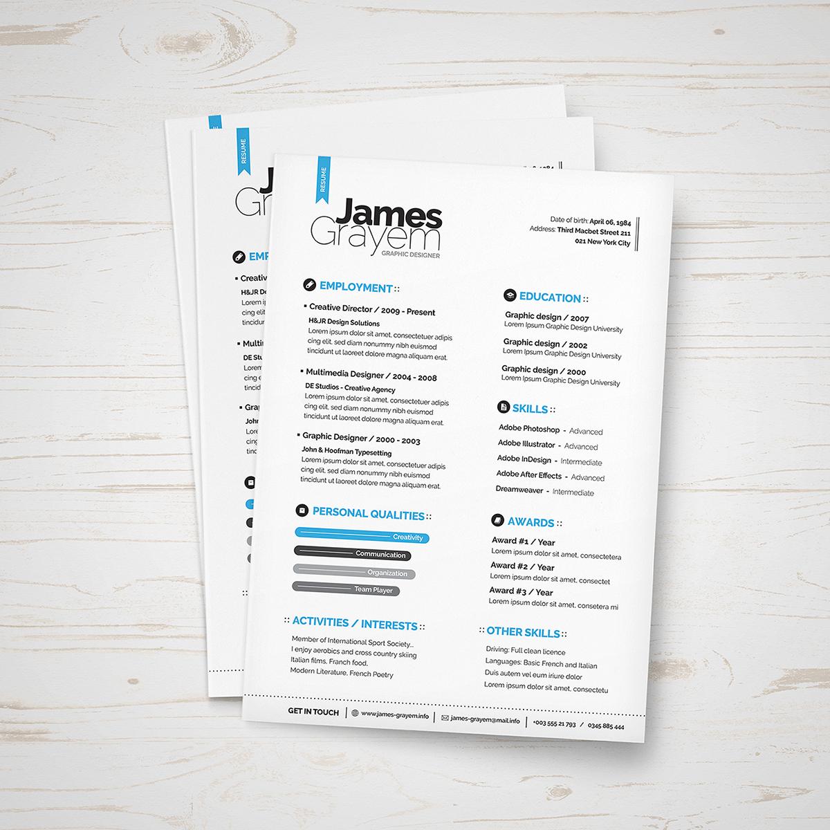 FREE-Resume-CV-Template-02