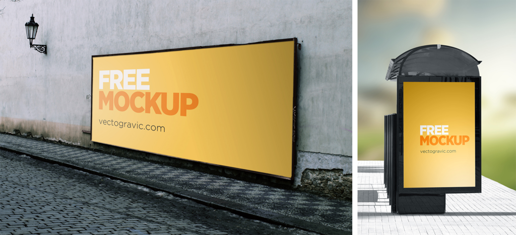 Outdoor Sign Mockups