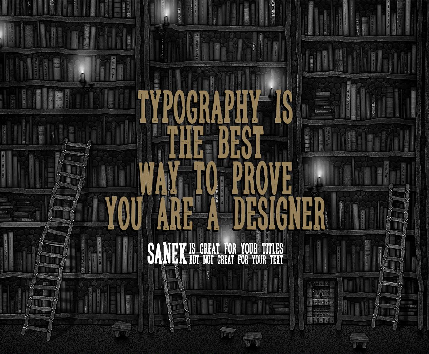 Sanek-free-fonts-demo
