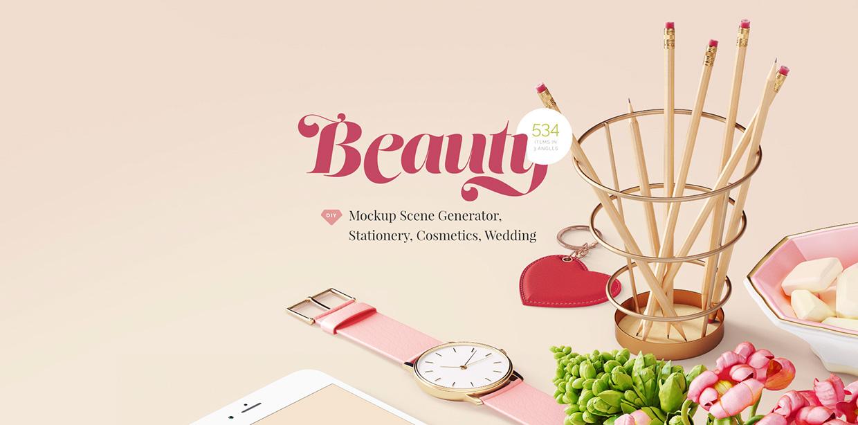 beauty mockup free sample 01