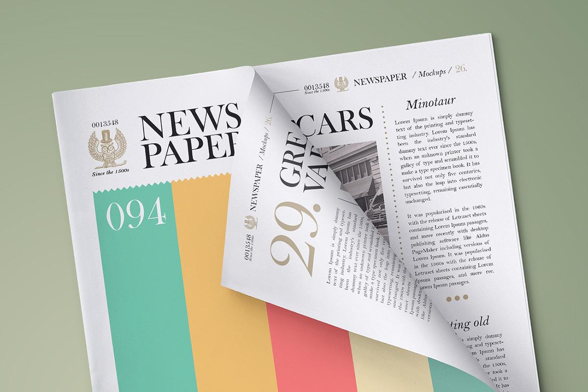newspaper mockup pune design studio 02