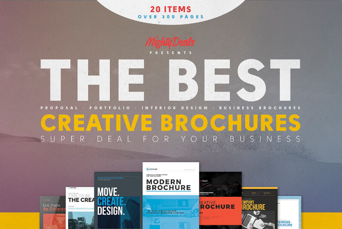 20 Creative Brochures Templates