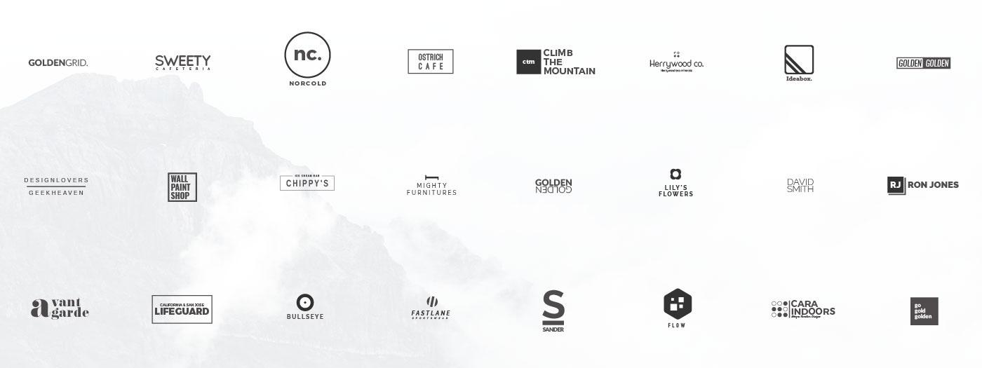 25 Free Minimalistic Logo Templates (AI & PSD)