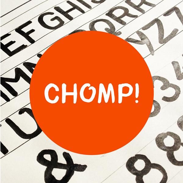 Chomp-Typeface