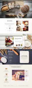 Free Bakery PSD Web Template 01
