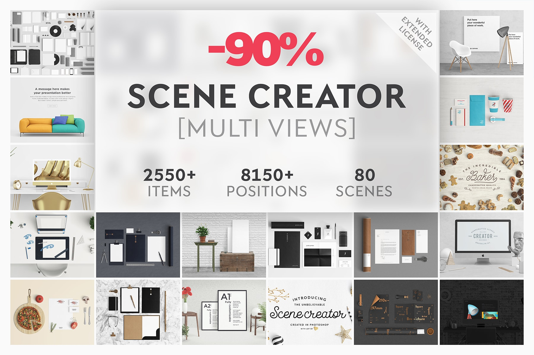 90% OFF – Scene Creator Bundle