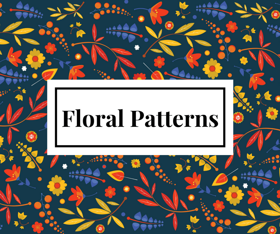 Free Floral Pattern Resource by Nicla Marino