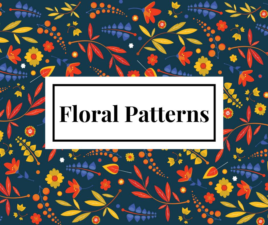 Free Floral Pattern Resource by Nicla Marino