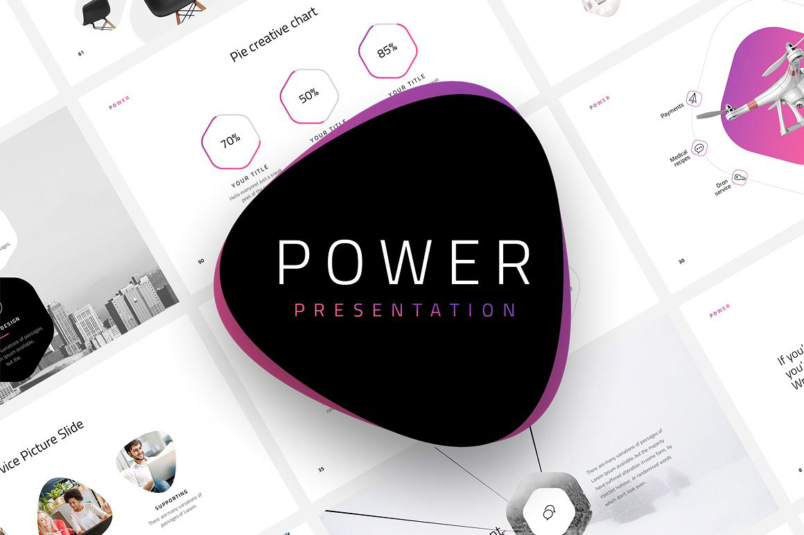 Modern and Professional Free PowerPoint Template