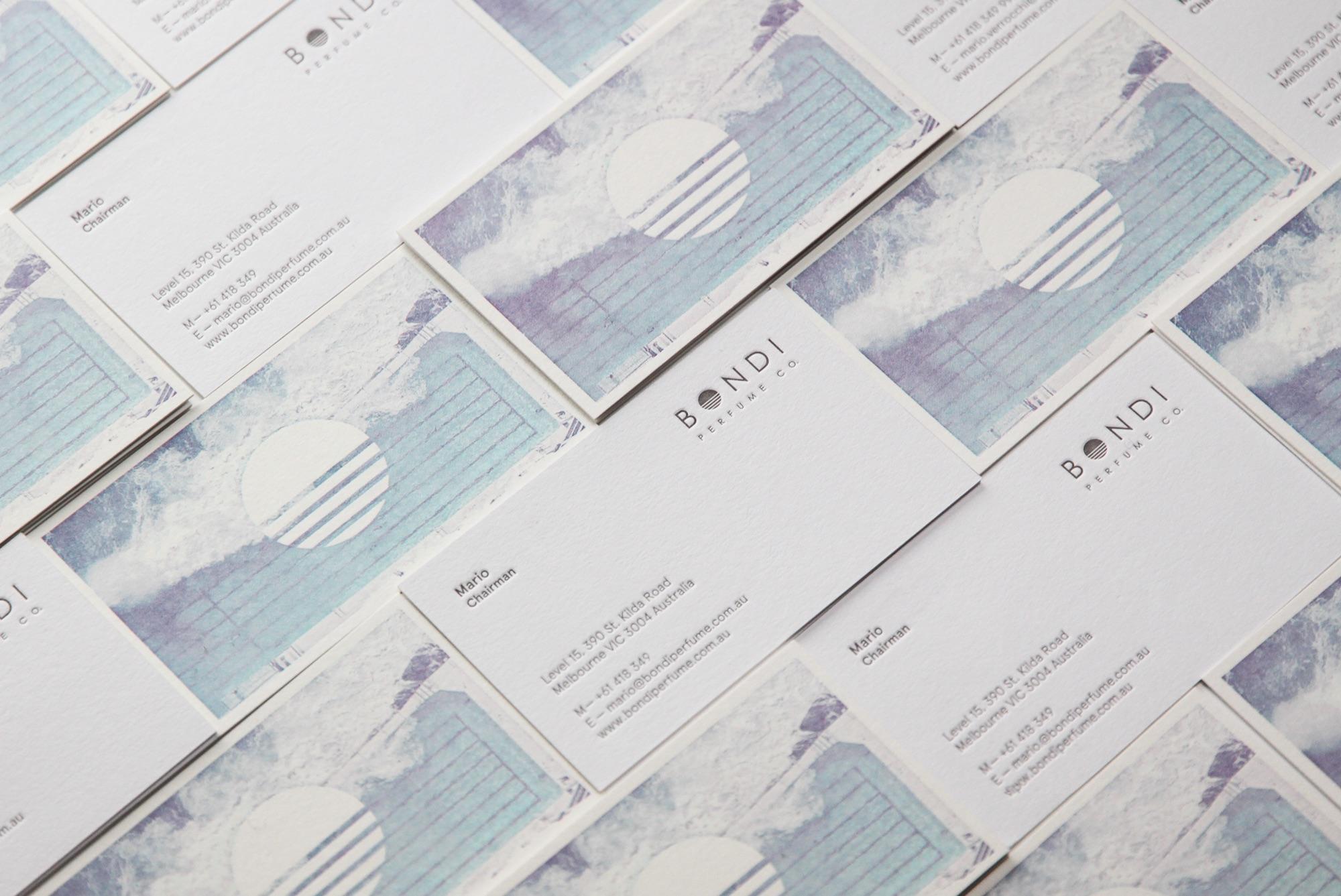 Bondi Perfume Co. Branding