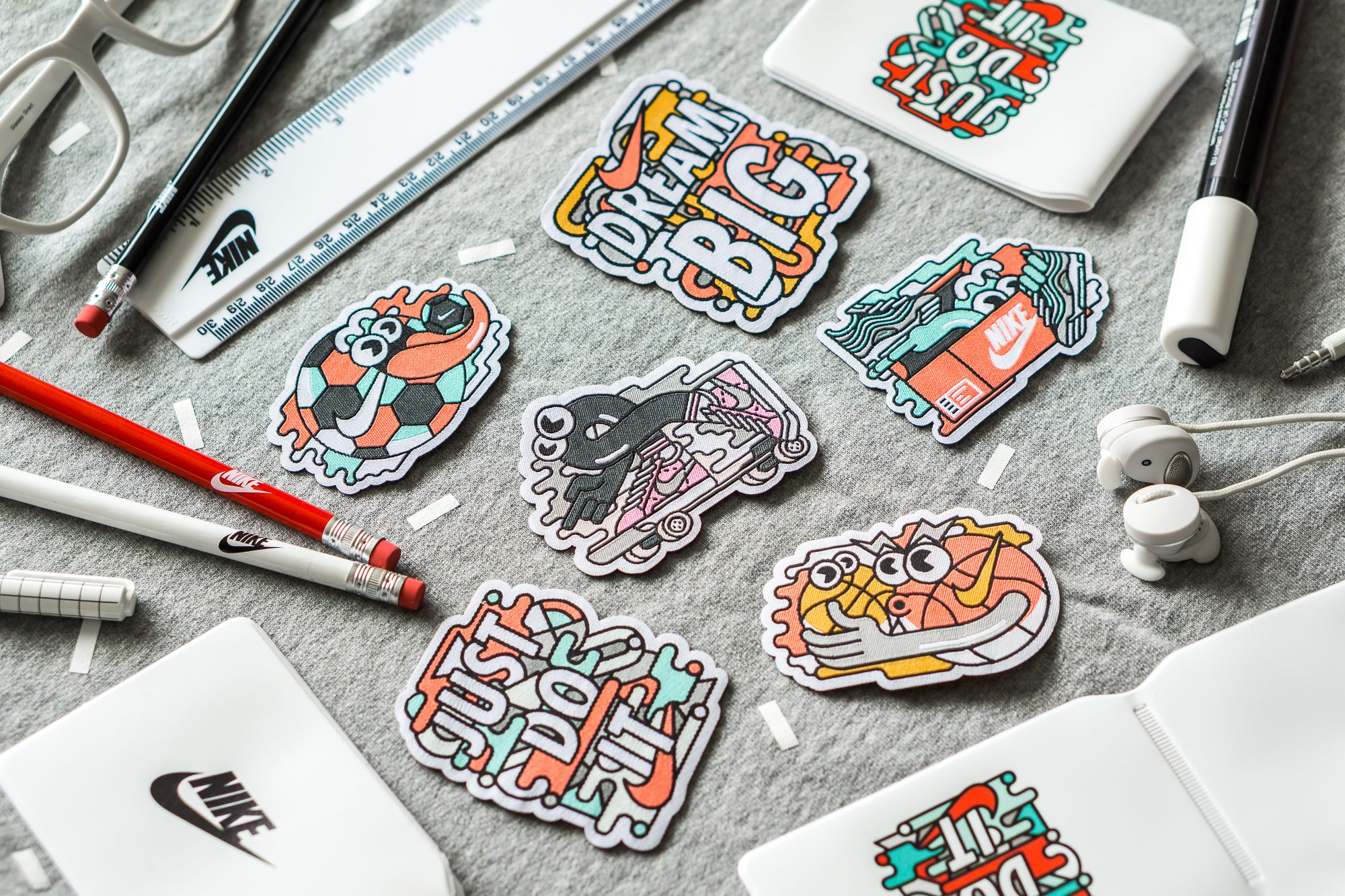 Nike Back to School Patches