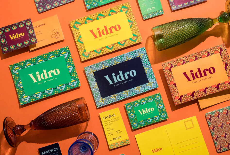 Vidro's Colorful Packaging & Branding